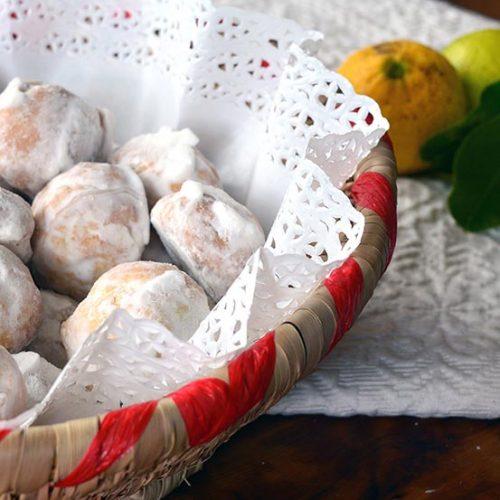 Dolci sardi al limone: Pirichittos